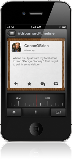 Tweet Speaker by App Cubby